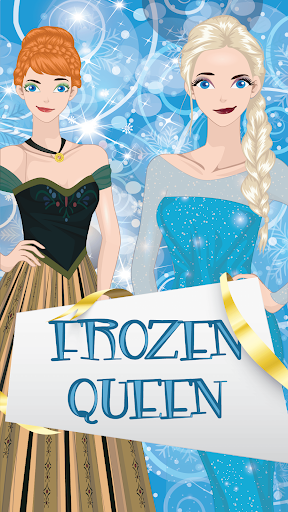 冰冻女王装扮