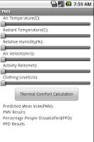 Screenshot of PMV