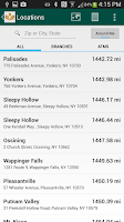 Screenshot of Mahopac Bank Mobile