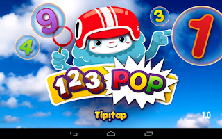 Screenshot of 123 POP! Learning Numbers