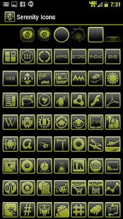 BigDX Serenity ADW Theme Yello - screenshot thumbnail