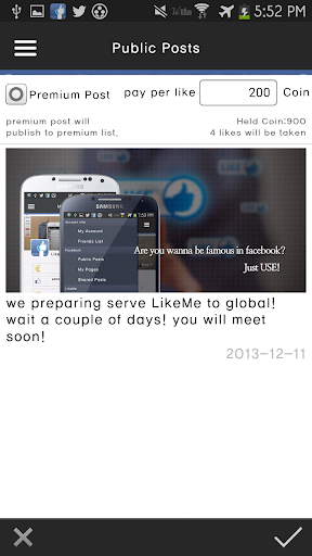 【免費社交App】Temporary Not Supported)LikeMe-APP點子