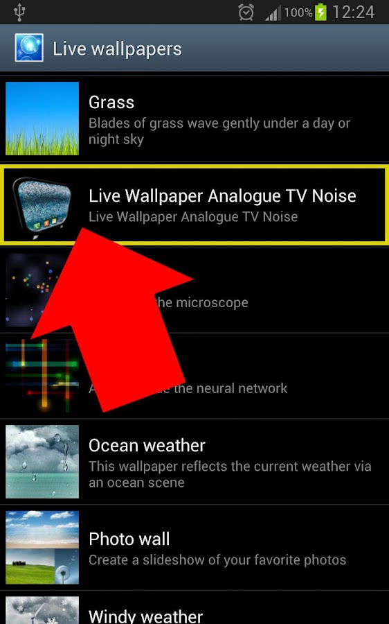 Old Analogue TV Noise LIVE WP- screenshot