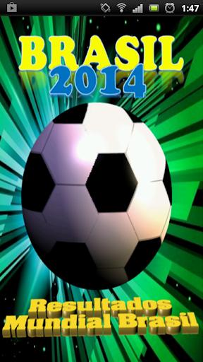 Resultados Mundial Brasil 2014