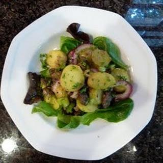 Smoked Oyster and Potato Salad