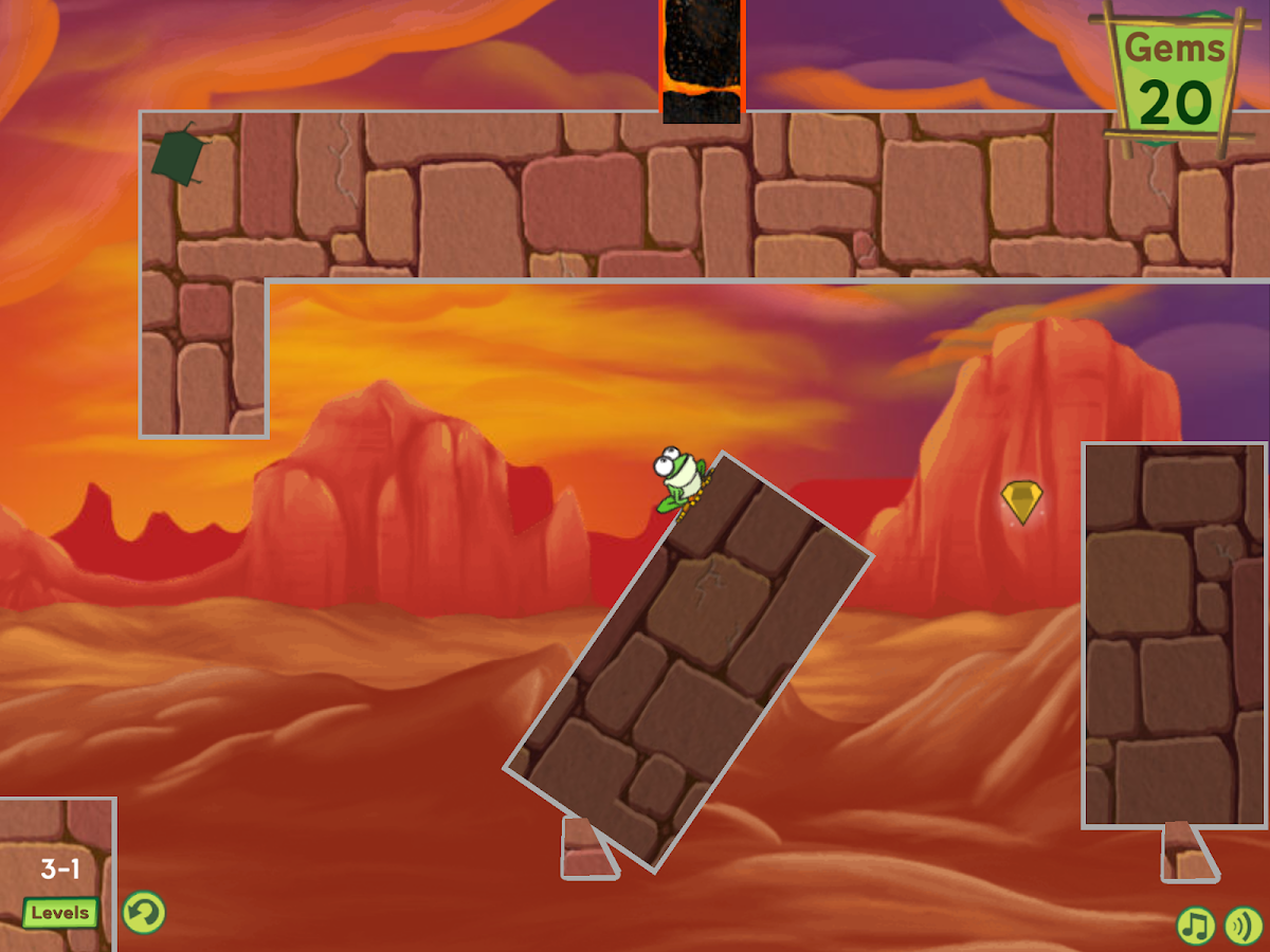 Treefrog Treasure- screenshot