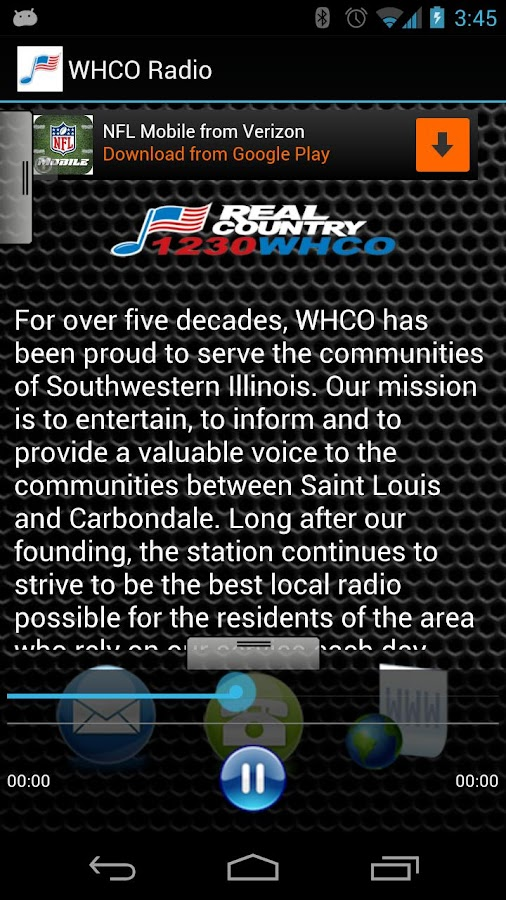 WHCO Radio - screenshot