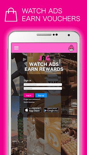 JAG Watch Ads Earn Rewards