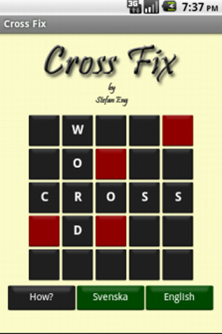 Cross Fix