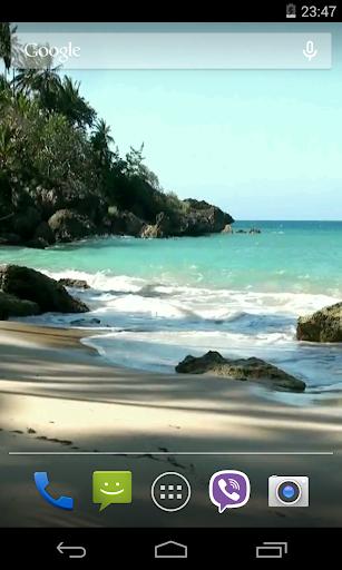 최고의 해변 동영상 라이브 월페이퍼