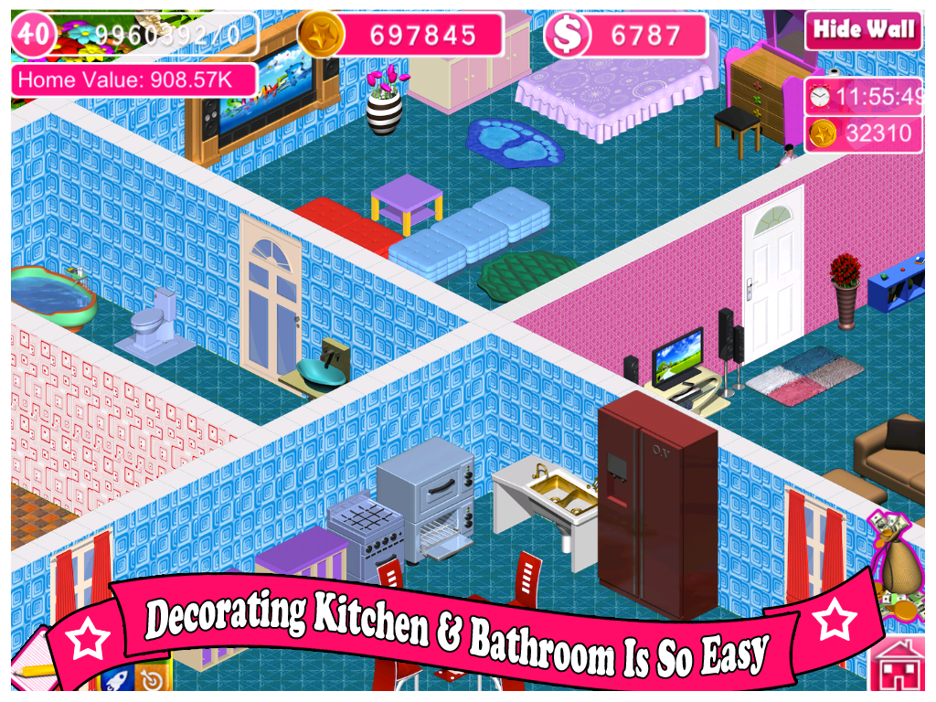 Design Home Decor Game