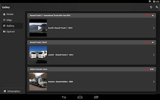 Screenshot of Truckers Gallery