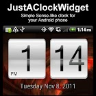 JustAClockWidget icon