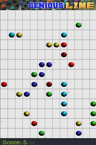 genious line - color ball