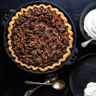 Brown Butter Walnut Pie with Sour Whipped Cream