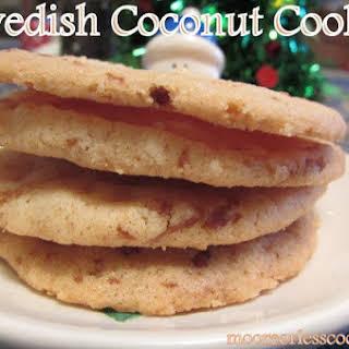 Swedish Coconut Cookies.