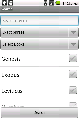 Simple Bible KJV- screenshot