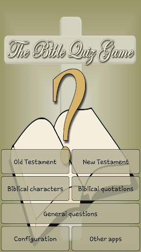 The bible quiz game