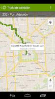 Screenshot of TripMate Adelaide Transit App
