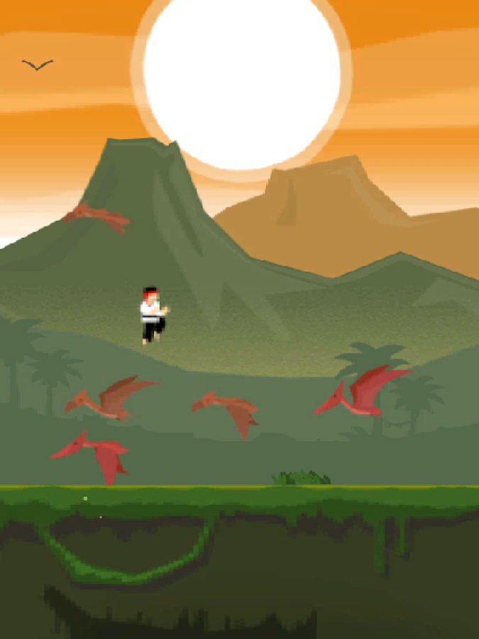 Karate Dino- screenshot