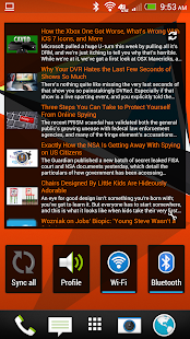 Simple RSS Widget - screenshot thumbnail
