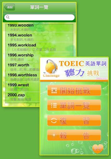 TOEIC英語聽力挑戰