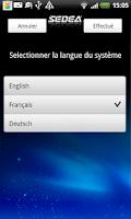 Screenshot of S5 SEDEA