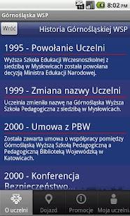 Górnośląska WSP- screenshot thumbnail