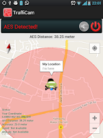 Screenshot of AES and Traffic CCTV