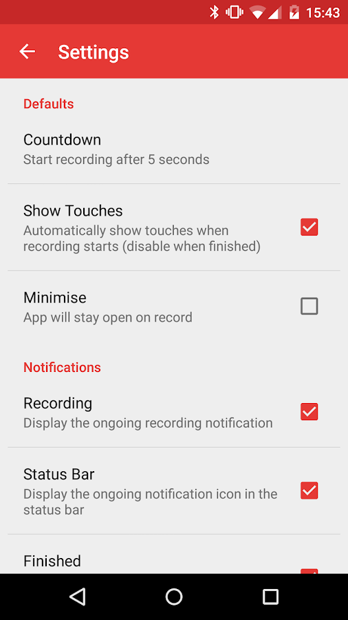 Rec. (Screen Recorder)- screenshot