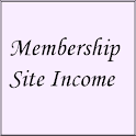 Membership Site Income logo