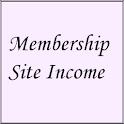 Membership Site Income logo