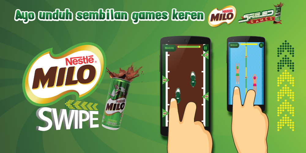 MILO Speed Games Swipe - screenshot