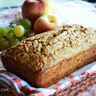 Banana-Apple Bread.