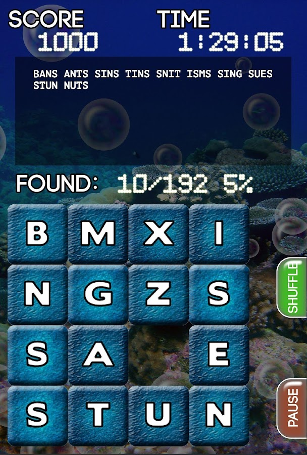 Word Slide- screenshot