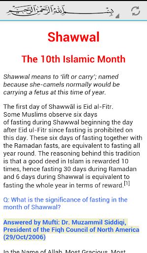 Islamic Shawwal