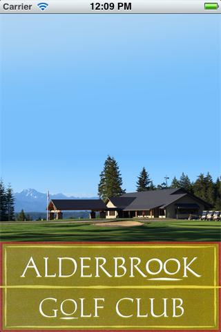 Alderbrook Golf Club- screenshot