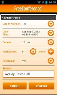 FreeConference Mobile - screenshot thumbnail