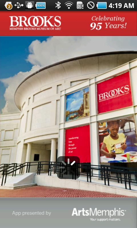 Memphis Brooks Museum of Art- screenshot