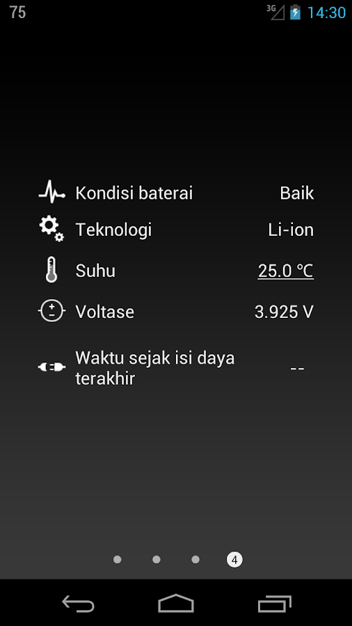 Baterai HD Pro  - Battery - screenshot