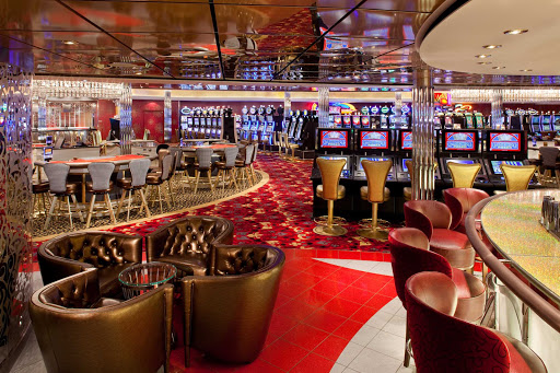 Allure-of-the-Seas-casino - Try your hand at slots, blackjack, poker and other games in the casino aboard Allure of the Seas.