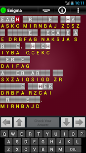 Enigma Trial - Cryptograms - screenshot thumbnail