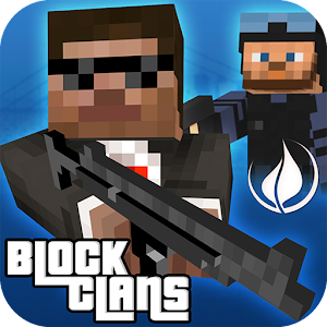 Block Clans - Pixel World Gun