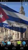 Screenshot of 3D Cuba Flag Live Wallpaper +