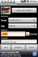 Screenshot of FinanTrak (Free)