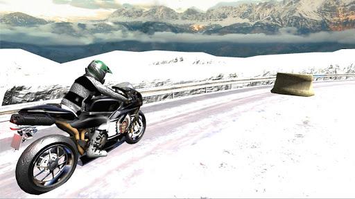Super Bike Snow Race