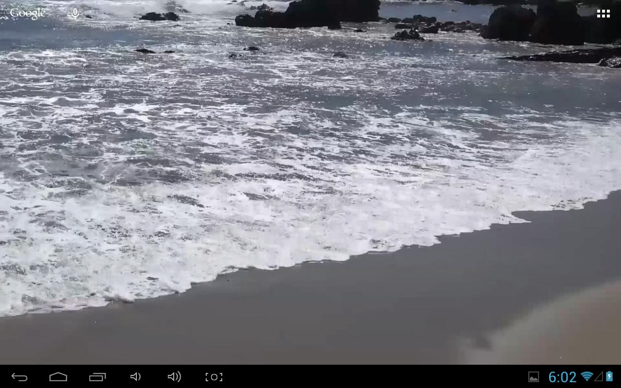 Beach Real Live Wallpaper- screenshot