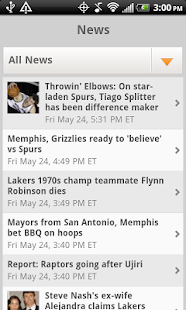 Sporting News Pro Hoops - screenshot thumbnail