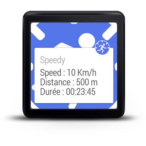 Speedy - GPS speed for WEAR