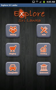 Explore Sri Lanka - screenshot thumbnail
